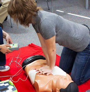 Basic Life Support & Automated External Defibrillation (AED) Training Course